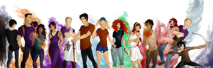 The Heroes of Olympus by divergent-is