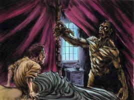 Frankenstein panel 2 by ZombPunk