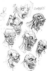 zombies by ZombPunk
