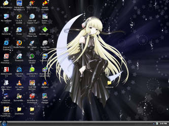 chobits-goth wp by e-x3