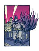 a Grim Batman... by dio-03