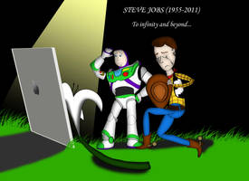 PIXAR Mourns Steve Jobs by RaltheCommentator