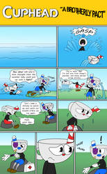 Cuphead: A Brotherly Pact, Pg 1 by RaltheCommentator