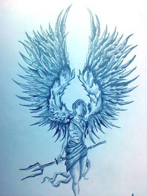 warrior angel by Isztar89