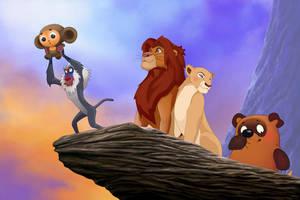 Lion King by Hofarts