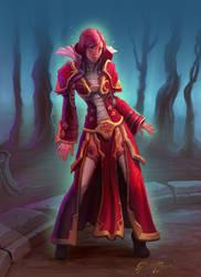 Sorceress by JordanKerbow