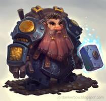 Cave Dwarf by JordanKerbow
