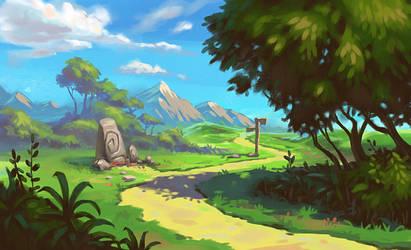 Adventure Trail by JordanKerbow