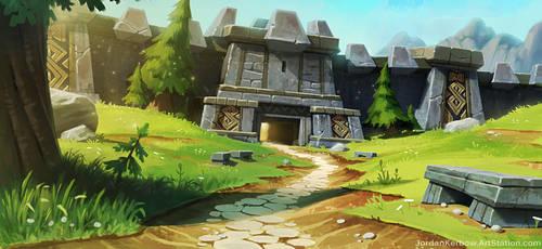 Dwarf Gate by JordanKerbow