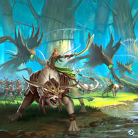 Latari Elves Army Expansion by JordanKerbow