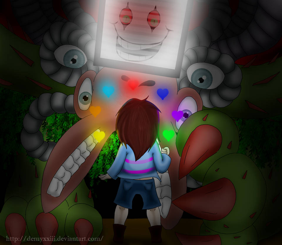 Undertale Your Best Nightmare By Demyxxiii On Deviantart
