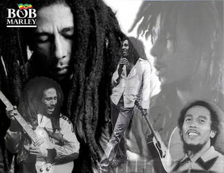 Bob Marley by shoobedoowahh