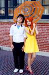 Evangelion FanExpo 2014 meet #18 by Lightning--Baron