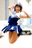 Cheerleader Mako Mori FanExpo 2014 #15 by Lightning--Baron