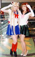 Sailor Moon and Jupiter Fan Expo 2015 by Lightning--Baron