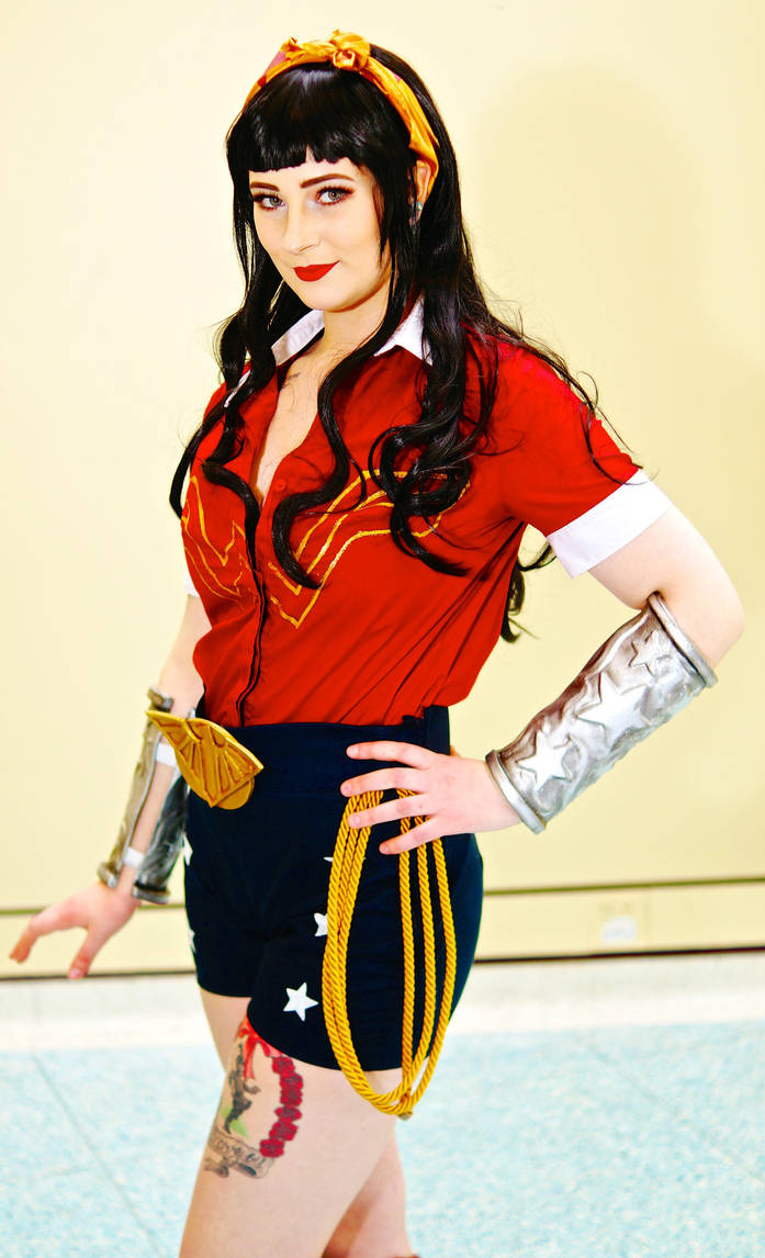 Bomb Shell Wonder Woman Hall MTCC/MTAC2016 #01 by Lightning--Baron