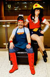 Bombshell Superman and Wonder Woman MTAC 2016 #02 by Lightning--Baron