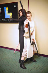 Rey and Kylo Ren from Star Wars 2016 MTAC/MTCC #01 by Lightning--Baron
