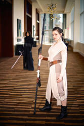 Rey and Kylo Ren from Star Wars 2016 MTAC/MTCC #02 by Lightning--Baron
