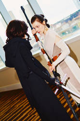 Rey and Kylo Ren from Star Wars 2016 MTAC/MTCC #05 by Lightning--Baron