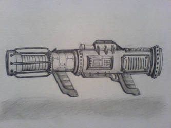Roland's particle cannon by Chaylar