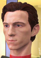 Tom Holland 3D headsculpt render 2 by Chenks-R