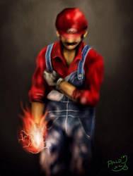 Realistic Super Mario by Paldz
