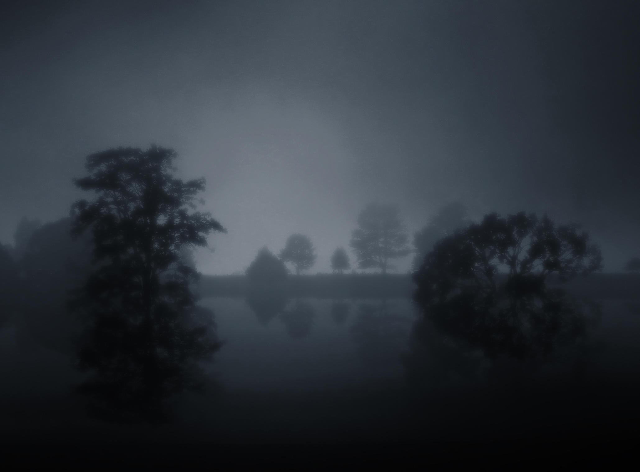 Fog Lake IIII by BBs-Brushes