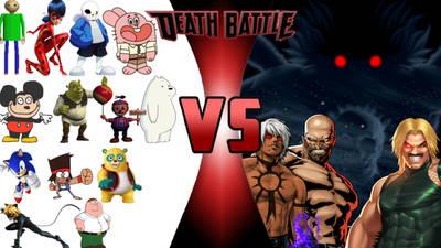 team debiluchos vs team dioses poderosos by Thesans198