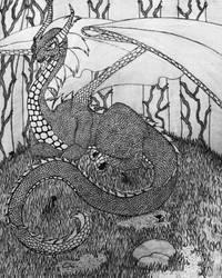 She Dragon by AuroraNin