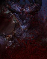 Blood Ogre by AuroraNin