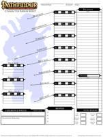 Pathfinder Sheet by King Radical #2/3 by King-Radical-II