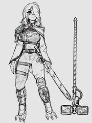Aria's uniform by TonyKatze