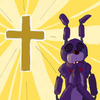 Bonnie praying by neonlover2000