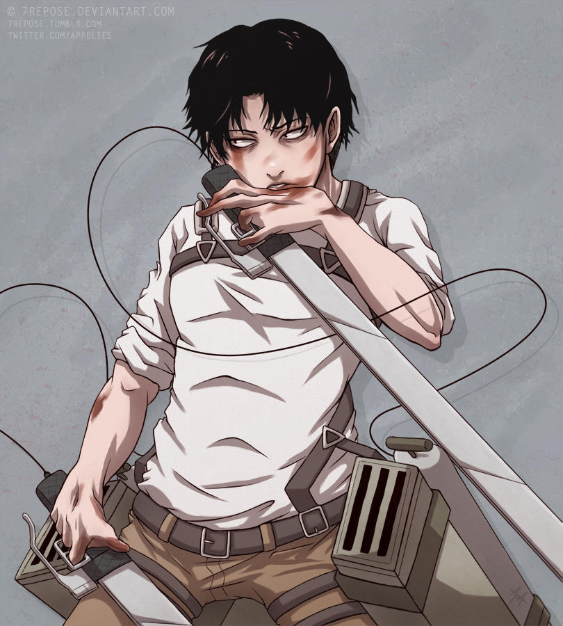 Levi By 7Repose On DeviantArt
