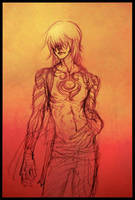 - blood red - gunji by aramaki