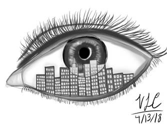 Eye City Thingy by DuckyWucky20