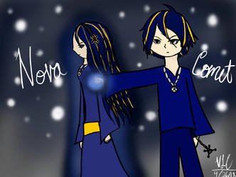 Nova and Comet by DuckyWucky20