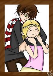 Noah and Kristen by DuckyWucky20