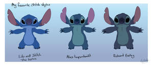 Stitch styles by Lullaby-of-the-Lost