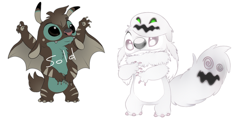 Spooky Experiment Adopts [Open 1/2] Discounted by Lullaby-of-the-Lost