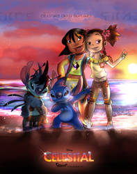 Stitch Triverse: Introducing Celestial Triverse by Lullaby-of-the-Lost