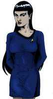 Gender Swap Spock by PinkLetter