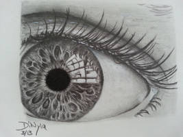 Realisticeye by DiNyla
