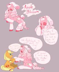 Apple Blossom by BoringArtist