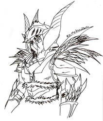 Zero the Black Hunter by MobiusZero