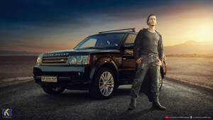 Range Rover and man by rajrkb