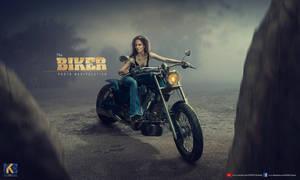 THE BIKER by rajrkb