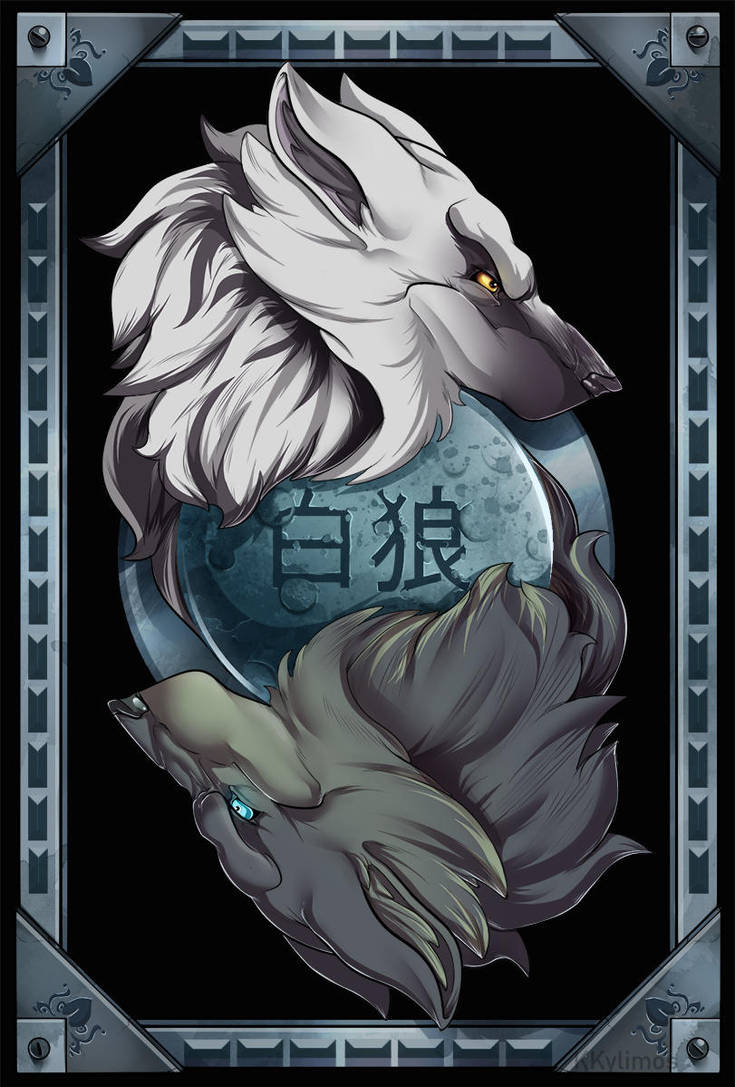 Wolves card by KKylimos