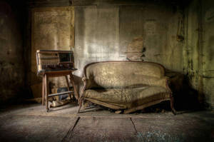 Take a seat and listening to the radio by ashleygino